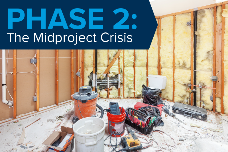 Phase 2: The Midproject Crisis