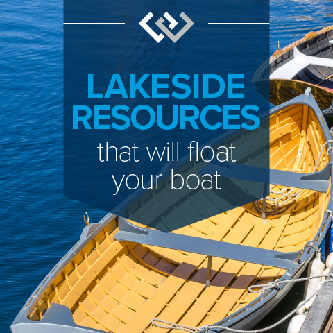Lakeside Resources That Will Float Your Boat
